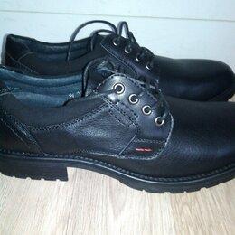 Ботинки - Новые кожаные мужские ботинки , 0