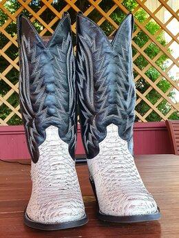 Сапоги - Сапоги мужские сапоги казаки из нат. кожи, 0