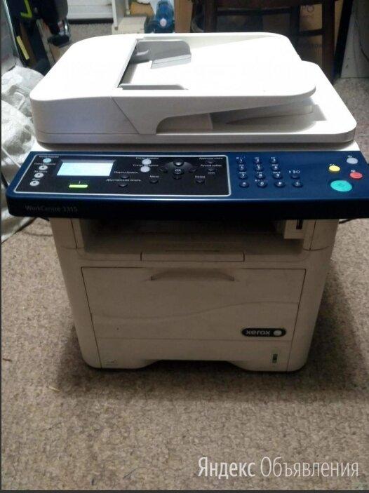 МФУ Xerox 3315 сетевой принтер / сканер / копир по цене 8000₽ - Принтеры, сканеры и МФУ, фото 0