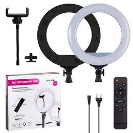 Фотовспышки - Кольцевая лампа с пультом 32 см, 0