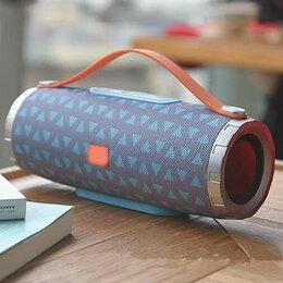 Портативная акустика - Портативная Bluetooth колонка TG109, голубая, 0