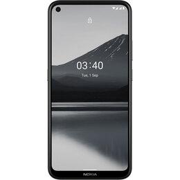 Мобильные телефоны - Смартфон Nokia 3.4 3/64GB Dual Sim Серый, 0