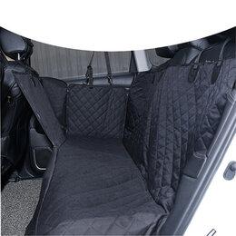 Транспортировка, переноски - Автогамак для перевозки собак в машине на заднее сиденье, 0