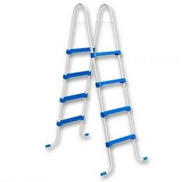 Лестницы и поручни - Лестница для сборного бассейна Azuro, без площадки высота 1,2 м, 0