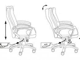 Компьютерные кресла - Кресло Бюрократ CH-868YAXSN, 0