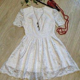 Платья - Кружевное платье, 0