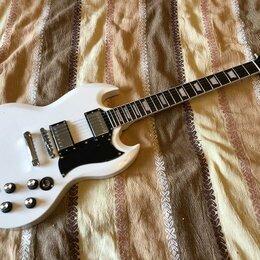 Электрогитары и бас-гитары - Копия Gibson SG Standard Alpine White, 0