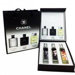 Парфюмерия - Новый Мужской набор духов Chanel - 3*20 мл, 0