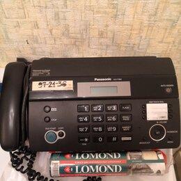 Факсы - Телефон факс  Panasonic KX-FT982RU, 0