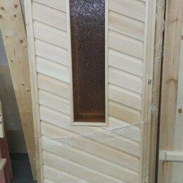 Двери - Дверь банная (липа) со стеклом 180*70, 0