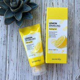 Скрабы и пилинги - Secret key lemon sparkling peeling gel, 0