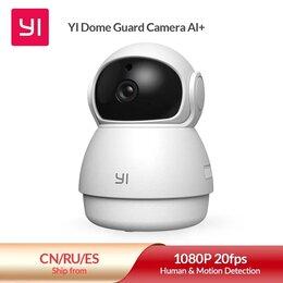 Камеры видеонаблюдения - Камера Xiaomi YI Dome Guard 1080P, 0