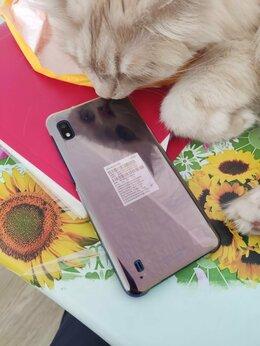 Мобильные телефоны - самсунг А 10 бу , 0