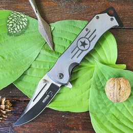 Ножи и мультитулы - Нож складной Boker Plus 65 Black Star, 0