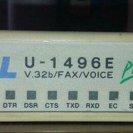 Прочее сетевое оборудование - Раритетный модем Zyxel U-1496E+, 0