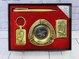 Подарочные наборы - Подарочный набор Ручка+Брелок+Зажигалка+Пепельница, 0