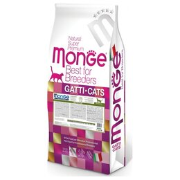 Корма  - Monge Cat Sensitive 10 кг Сухой корм для кошек с…, 0