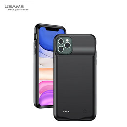 Универсальные внешние аккумуляторы - Внешний АКБ чехол iPhone 11 Pro Max USAMS 4500mAh, 0