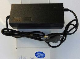 Аккумуляторы и зарядные устройства - Зарядное устройство Li-ion аккумуляторов 48V 2A, 0