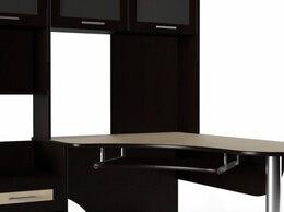 Компьютерные и письменные столы - Компьютерный стол Мебелайн-57 (тумба слева), 0
