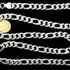 Серебряная цепь Картье.Вес-95,2 грамма,длина-63 см по цене 11000₽ - Цепи, фото 0
