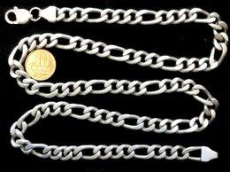 Цепи - Серебряная цепь Картье.Вес-95,2 грамма,длина-63 см, 0