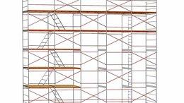 Лестницы и стремянки - Строительные леса рамные 4х18, 0