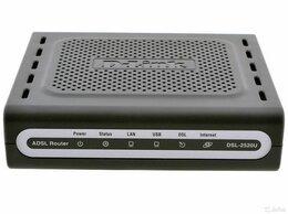 Проводные роутеры и коммутаторы - Роутеры adsl модемы D-Link DSL-2500U и DSL-2640U, 0