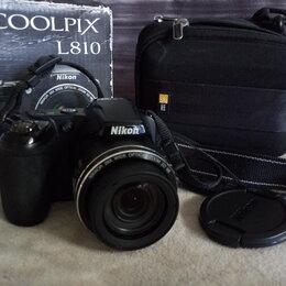 Фотоаппараты - Фотоаппарат Nikon Coolpix L810, 0