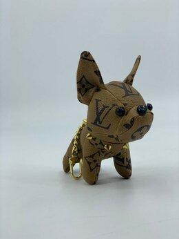 Брелоки и ключницы - Брелок Louis Vuitton Dog кожаный мужской/женский…, 0