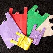 Пакеты - пакет-майка для продуктовых магазинов с логотипом и стандартные, 0
