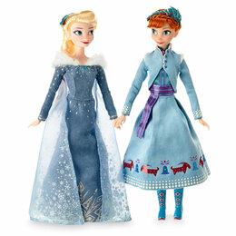Куклы и пупсы - Куклы Эльза и Анна, 0
