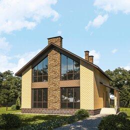 Архитектура, строительство и ремонт - проект дома коттеджа из кирпича, 0
