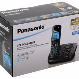 Радиотелефоны - Новый Радиотелефон Panasonic KX-TG6561, 0