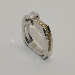 Кольца и перстни - Мужское кольцо с бриллиантом принцесса и…, 0