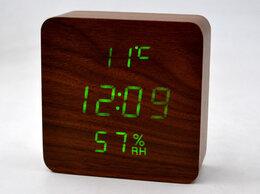 """Часы настольные и каминные - """"Деревянные часы"""" электронные VST-872-4, 0"""