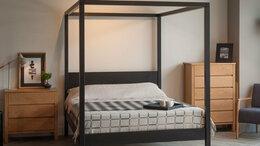 Кровати - Кровать с балдахином из дуба, 0