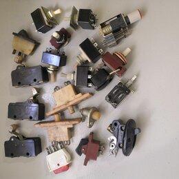 Радиодетали и электронные компоненты - Тумблеры Выключатели, 0