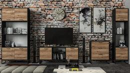 Шкафы, стенки, гарнитуры - Гостиная Лофт ЛД-4, 0