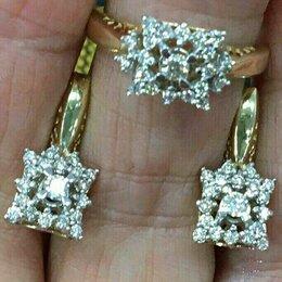 Комплекты - Золотой комплект с бриллиантами., 0