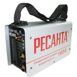 Сварочные аппараты - Сварочный аппарат инверторный САИ 160 Ресанта, 0