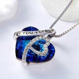 Кулоны и подвески - Ожерелье в виде сердца Love, 0