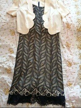 Платья - Женский комплект платье и болеро, 0