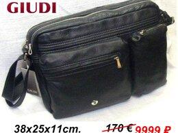 """Сумки - Мужская кожаная сумка """"Giudi"""" Италия. Новая, 0"""