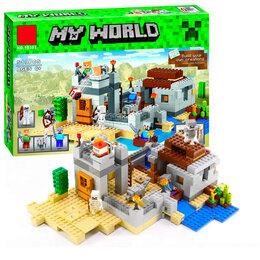 """Конструкторы - Конструктор Lari """"Minecraft"""" Мой мир Пустынная станция 519 детали, 0"""