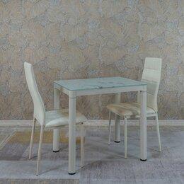 Столы и столики - Стол обеденный бежевый 80*60, 0