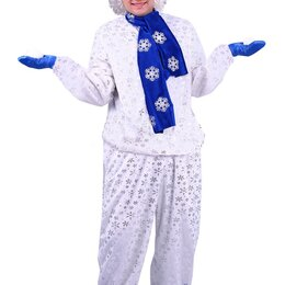 Карнавальные и театральные костюмы - Карнавальный костюм взрослый Снеговик, 0