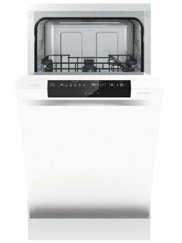 Посудомоечные машины - Посудомоечная машина 45 см  Gorenje GS-531E10W, 0