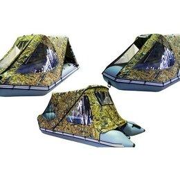 Аксессуары и комплектующие - Тент-трансформер ходовой для лодок пвх от 3.3 до 3.4 м, 0