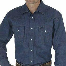 Рубашки - Рубашка джинсовая Wrangler, Made in USA, 0